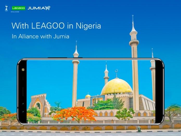 LEAGOO Enters Nigeria on Jumia