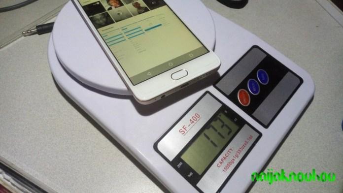 LEAGOO T5C weight