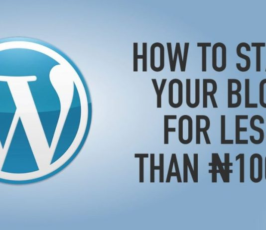 Learn How to Start Your Wordpress Site For Less Than N1000 Naira With HUB8