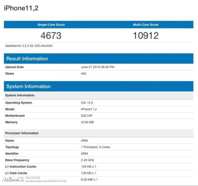 benchmark iPhone 11.2