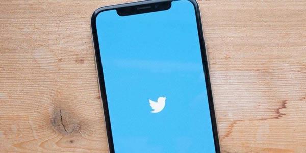 twitter on apple iphone