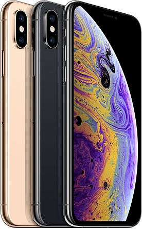 iPhone XS Colour Variants