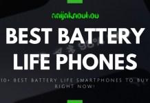 BEST BATTERY LIFE PHONES