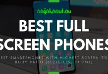 BEST FULL SCREEN PHONES (BEZEL-LESS PHONES)