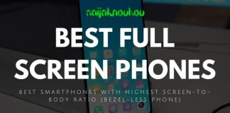 BEST FULL SCREEN PHONES (BEZEL-LESS PHONES)