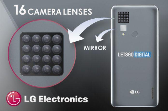 lg smartphone 16 camera lenses