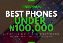 BEST PHONES UNDER 100000 NAIRA IN NIGERIA
