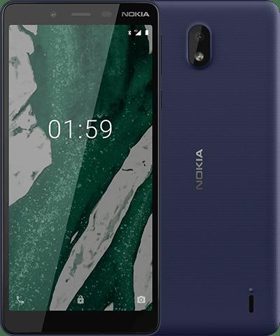 Nokia 1.1 Plus blue Colour