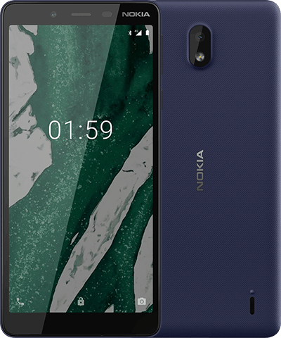 Nokia 1.1 Plus blue Colour