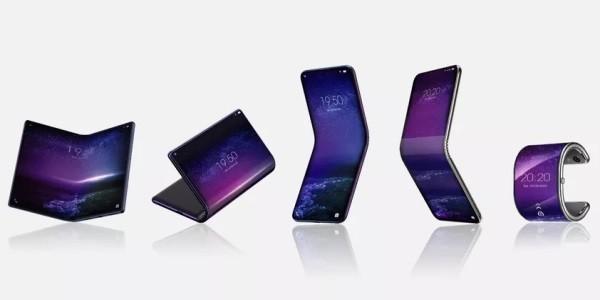 tcl folding smartphones