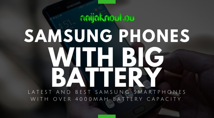 BEST SAMSUNG PHONES WITH BIG BATTERY
