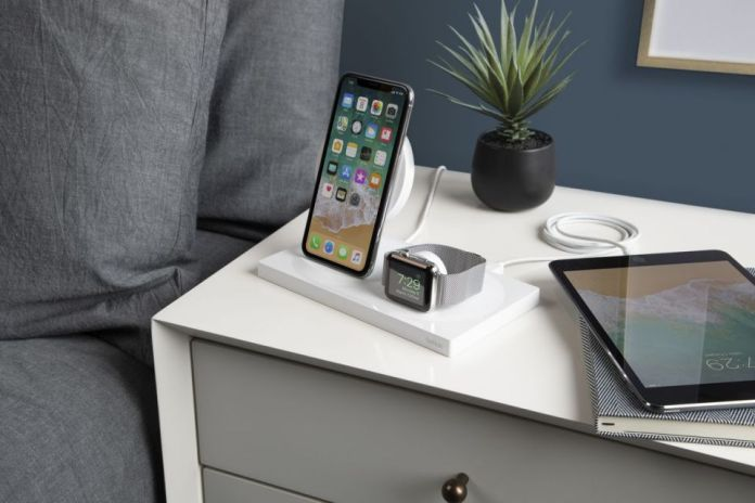 bedside wireless charging dock