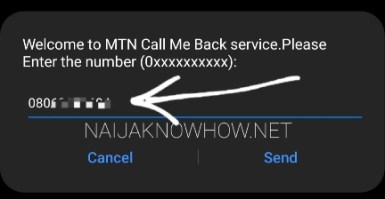 call me back on mtn