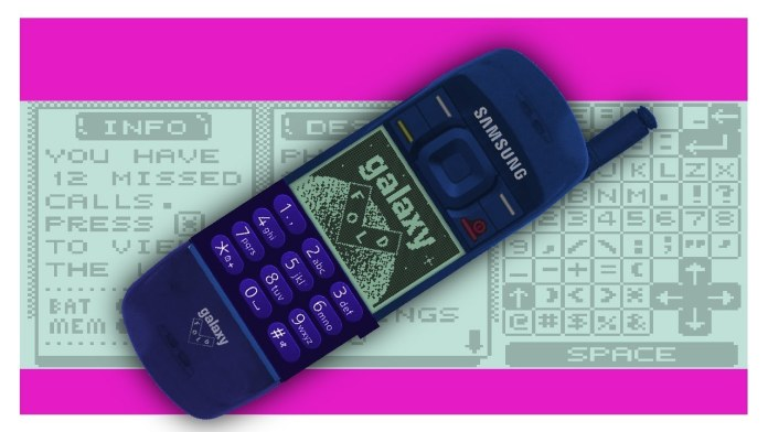 Video: Imagery Of Foldable Smartphones In The 1990s