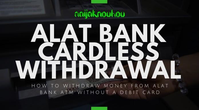 alat bank cardless withdrawal