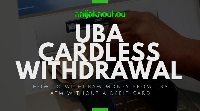 uba cardless withdrawal