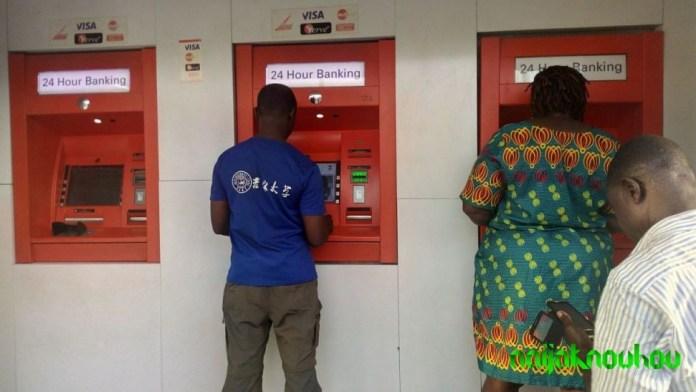 Zenith bank ATM point Aguda, Surulere, Lagos