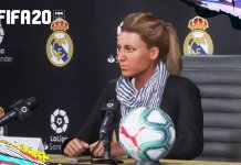 FIFA 20 female manager character
