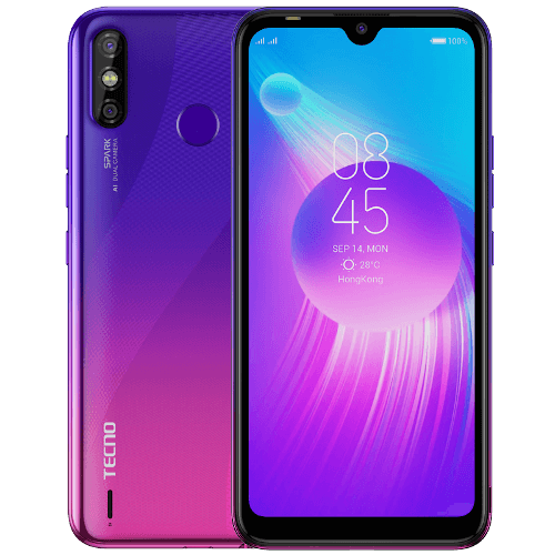 TECNO SPARK 4 Air Purple