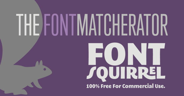 Font Squirrel - website to download fonts