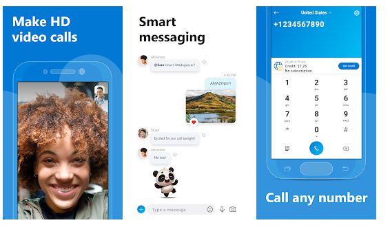 Skype - Facetime Alternative
