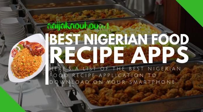 best nigerian food recipe apps