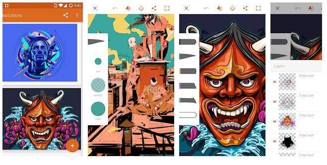 Adobe Illustrator Draw - Sketching Apps For Android