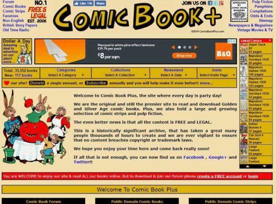 Comic Book Plus
