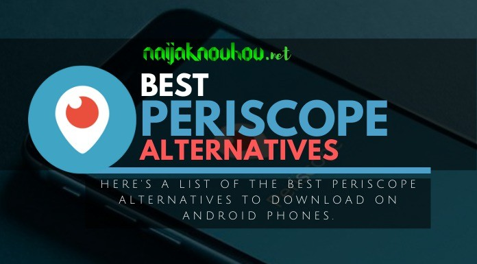 best periscope alternatives