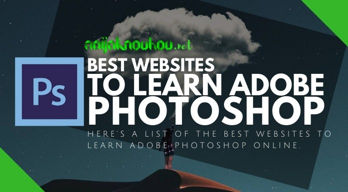 websites to learn adobe photoshop