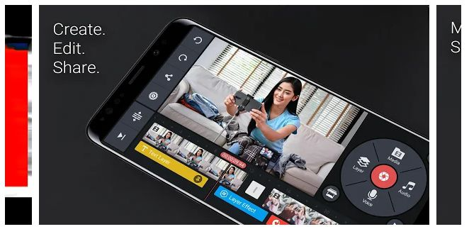 KineMaster - video editing apps for android