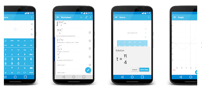MalMath - math solver app for android