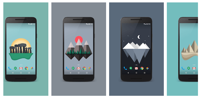 Material Islands - customization app for android