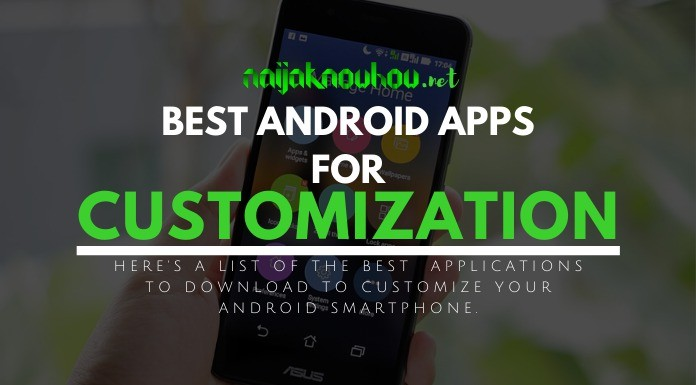 best customization apps for android