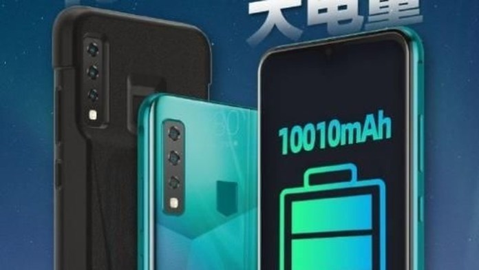 phone has a 10,010 mAh battery