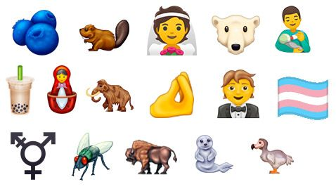 65 new emojis