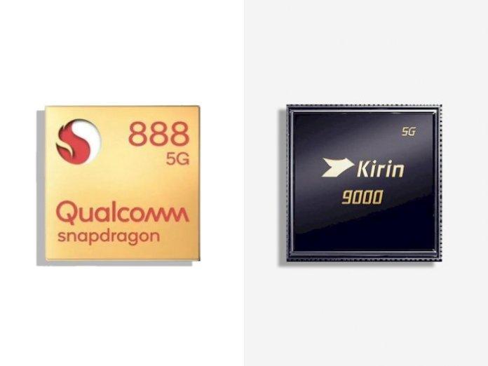 snapdragon 888 vs kirin 9000
