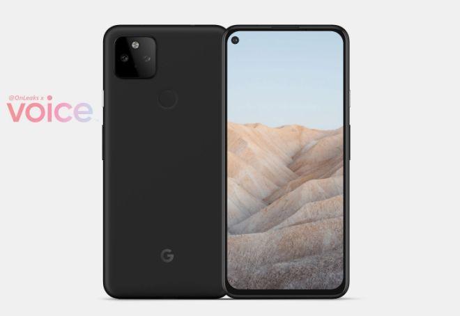 Google Pixel 5a leaked render