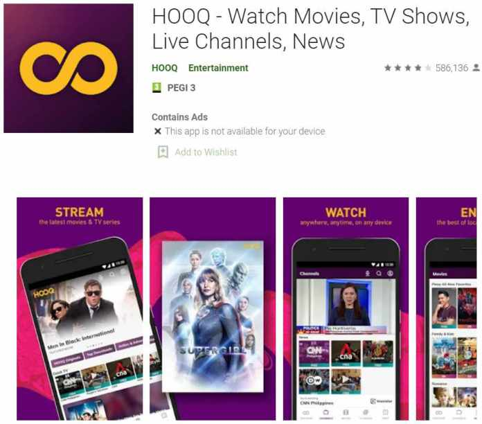 HOOQ - Watch Movies - app to watch Indian movies