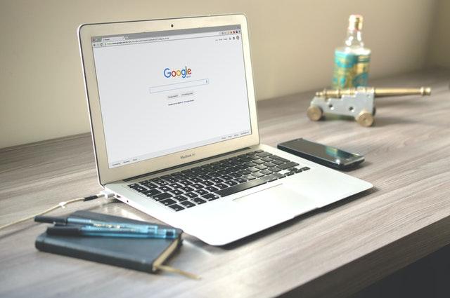 Google Chrome on MacBook