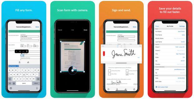 Adobe Fill & Sign app