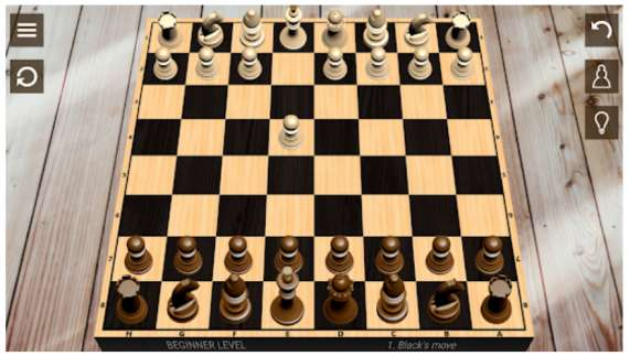 Chess online game application