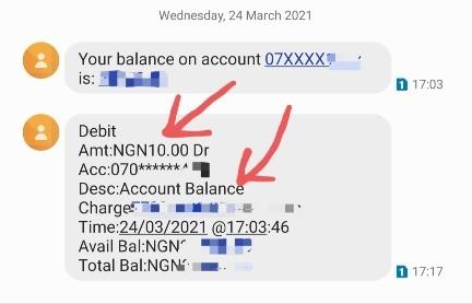 check access bank account balance via ussd code