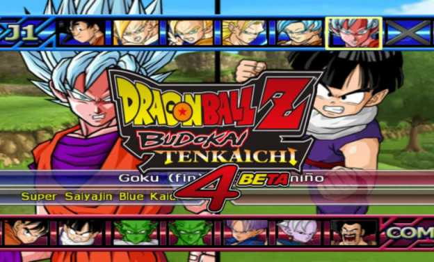 Download Dragon Ball Z Budokai Tenkaichi 4 Beta X PS2 ISO - PPSSPP