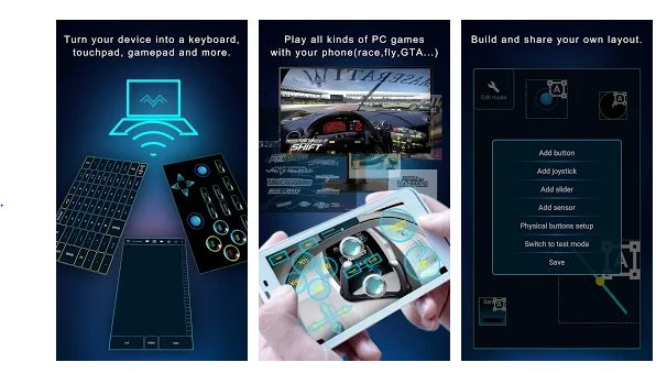 PC Remote - app to control windows pc
