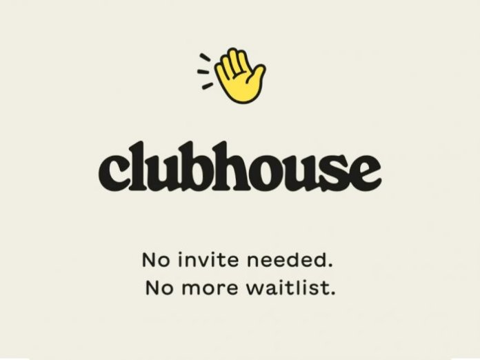 Clubhouse audio chat app