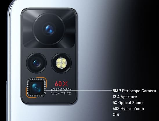 Infinix ZERO X Camera