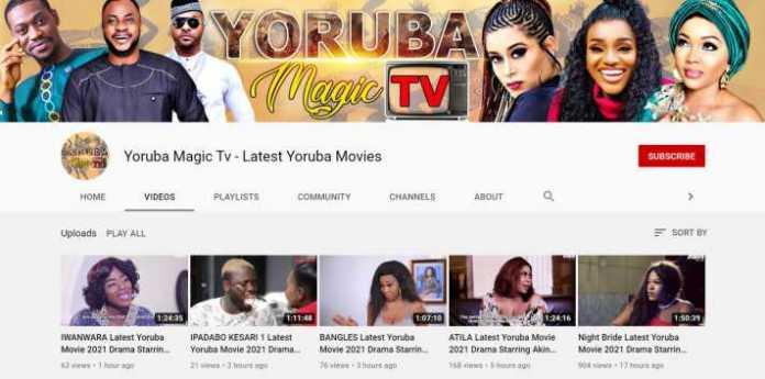 Yoruba Magic Tv - Yoruba Movie YouTube Channel