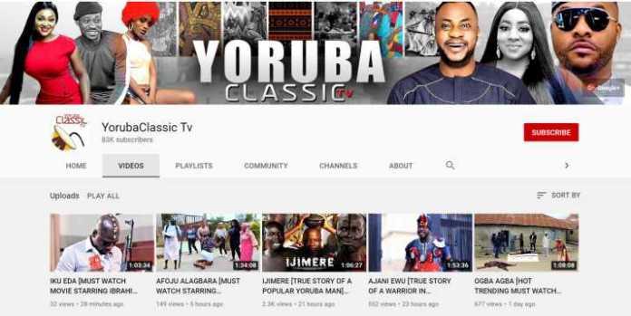 YorubaClassic Tv