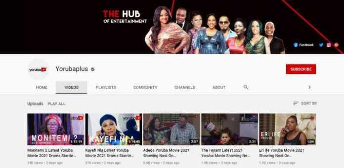 Yorubaplus - Yoruba Movie YouTube Channel